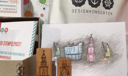 Stempelpost von den Designkonsorten